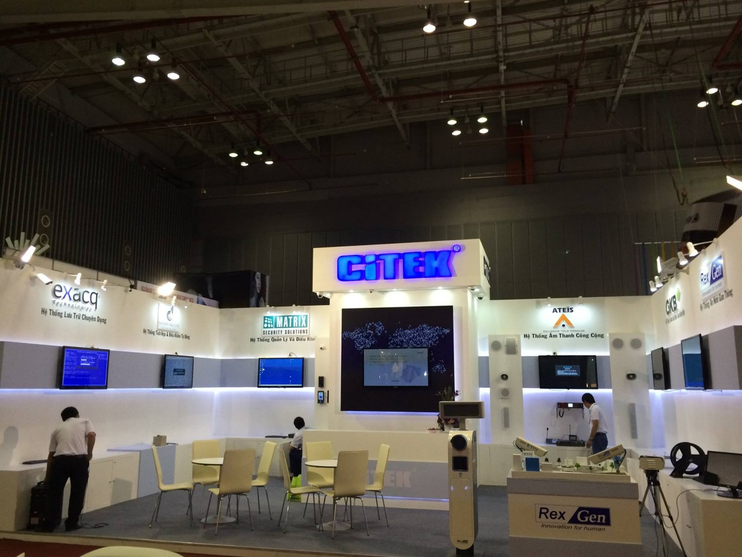 Citek Participated In The Second Vietbuild Exhibition In 08/2014