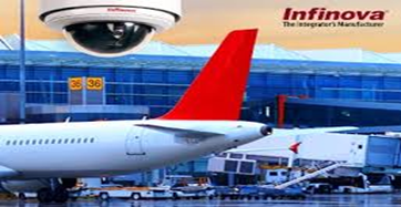 62 Airports across India chose Infinova Cameras